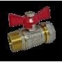 """Кран соединительный с внешней резьбой для металлопластиковой трубы 16 мм * 1/2"""""""
