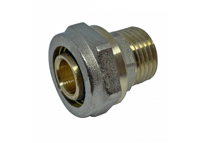 """Муфта с внешней резьбой для металлопластиковых труб D 26 мм * 3/4"""""""