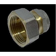"""Муфта с внутренней резьбой для металлопластиковых труб D 16 мм * 3/4"""""""
