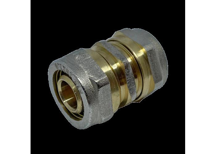 Муфта соединительная для металлопластиковых труб D 16 мм