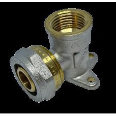 """Угол с внутренней резьбой монтажный для металлопластиковых труб D 16 мм * 1/2"""""""