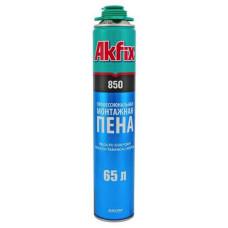 Пена монтажная AKFIX PRO MEGA 850мл под пистолет