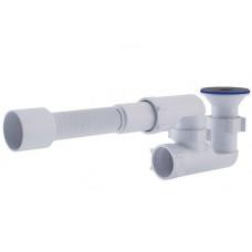Сифон для душевого поддона ANI PLAST регулируемый с гибкой трубой 375*40/50