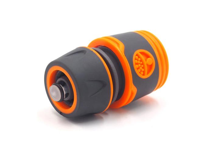 Коннектор быстросъёмный люкс для шланга с функцией аквастоп